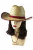DZ Pack Assorted Color Straw Hat