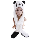 Plush Panda Hat/Gloves