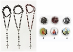 Dozen Rosary Long Necklace with Cases