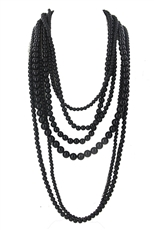Chunky Pearl Layered Necklace