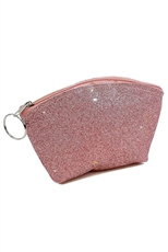 A Dozen Assorted Color Glitter Coin Purse
