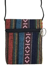 Dozen Assorted Color Tribal Mini Messenger Bag