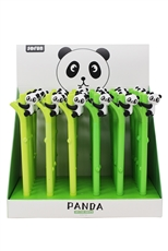 36-pc Cartoon Panda Bamboo Pen Set