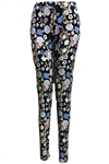 Flower Printed Fashion Leggings