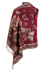 A Dozen Assorted Color Pashmina Scarves Shawls