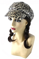 DZ Pack Sequin Accent Leopard Print Hat