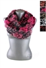 DZ Pack Assorted Color Ruffled Infinity Scarves