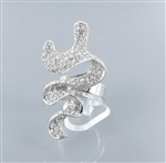 Rhinestone Fashion Ring