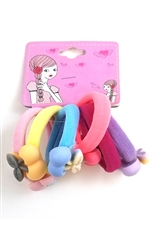 Dozen Assorted Color 6-pc Hair Tie Set