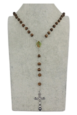 Dozen Rosary Long Necklace in Scented Case