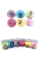 A Dozen Assorted Color Mermaid Slime DIY Crystal Mud Kids Toy