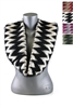 DZ Pack Assorted Color Chevron Print Infinity Scarves