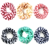 Chevron Zigzag Infinity Loop Circle  Scarvf Wrap in 6 colors