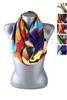 DZ Pack Assorted Color Multi Tone Infinity Scarves
