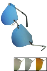 A Dozen Assorted Color RV Aviator Sunglasses
