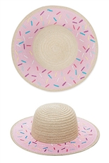 Wide Brim Beach Sun Straw Hat