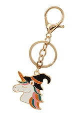 A Dozen Assorted Color Halloween Theme Key Ring