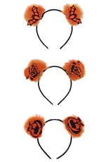 A Dozen Assorted Color Halloween Theme Headband