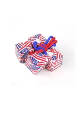 Dozen(2pcs each card) The American Flag Ponytail Holder