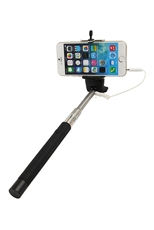 Wired SELFIE Monopod Extendable Handheld Stick Pole Holder with Remote Button