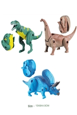 A Dozen Assorted Multiple Joints Dinosaur Toy