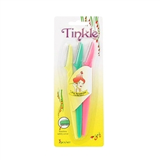 TINKLE Razor eyebrow shaper Trimmer Twinkle Face Bikini Hair Removers 3pcs Set