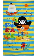A Dozen Assorted Color Kids Dainty Beach Towel