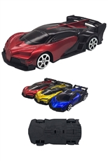 A Dozen Assorted Color Pull Back Racing Car Toy