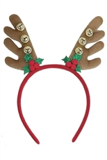 A Dozen Assorted Color Christmas Theme Headband
