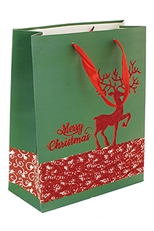 A Dozen Assorted Style Christmas Theme Gift Bag