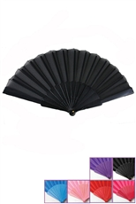 Dozen Assorted Color Fan
