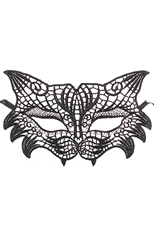 DZ Pack Assorted Animal Shape Lace Mask