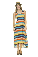 Casual Dress - Multi-Colored