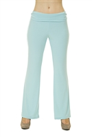 Active Lifestyle/Yoga Pants - Powder Blue