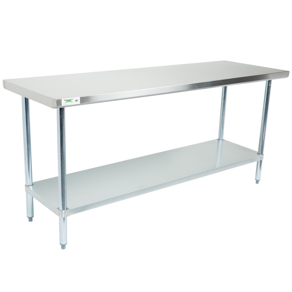 Used Stainless Steel Tables >> Used 6 Ft Stainless Steel Table
