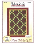 Nine Patch Quilt Pattern