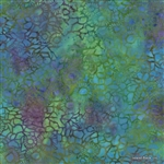 Batik Cotton Island Batik Blueberry Slush KG01-O1 Half Yard