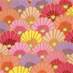 Kaffe Fassett - Fall 2014 - Thousand Flowers - Pink PWGP144.PINKX Half yard