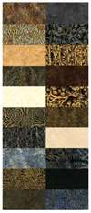 Island Batik Strip Pack Peppercorn-SP