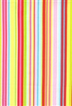 Timeless Treasures Tweet Multi Stripe-C9246-Red Half Yard