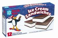NORTH STAR ICE CREAM SANDWHICHES 12CT