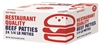 PURE BEEF PATTIES 32OZ
