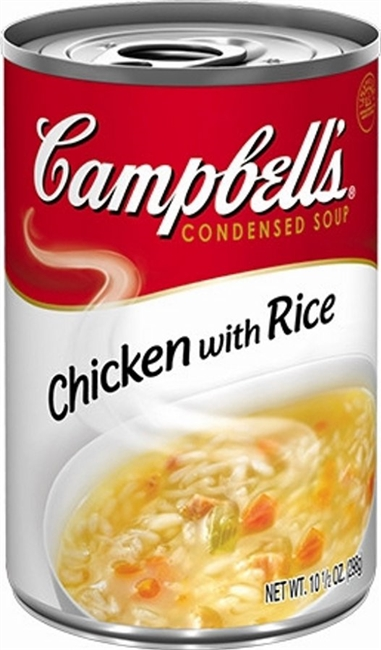CAMPBELLS CHICKEN  RICE SOUP 10 OZ