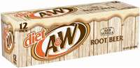 DIET A&W ROOT BEER 12 PK
