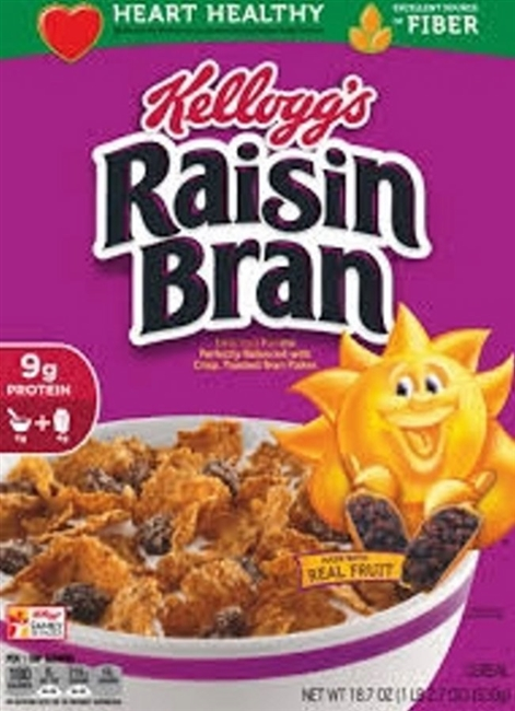 KELLOGS RAISIN BRAN 18.7 OZ