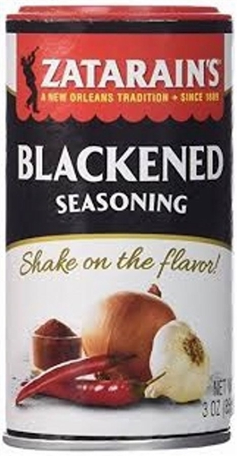 ZATARAINS BLACKENED SEASONING 3 OZ