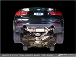 AWE TUNING BMW F3X 335I/435I TOURING EDITION AXLE BACK EXHAUST -- DIAMOND BLACK TIPS (90MM)