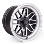 F/ZERO2 15x9.5 4x114 NICKEL SILVER (ET 15) (FULL SET)