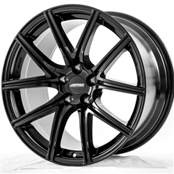 FS01 18X9.0/10 +25 5X114.3 GLOSS BLACK (Staggered)
