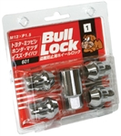 BULL LOCK SET 4 LOCKING NUT *CHROME*